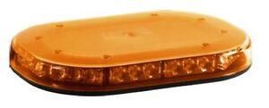 BRITAX BF700-00 LED Minibar Flashing Beacon Strobe Amber Light Amber Lens