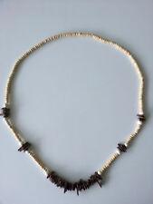 bijoux fantaisie pour femmes en bois Chaîne de brun longueur 70 cm Collier #7