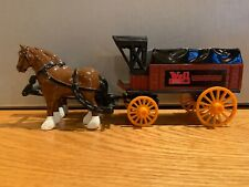 Ertl Weil McLain Die Cast Hiorse And Wagon