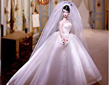 Maria Therese Silkstone Fashion Model Barbie Bride NRFB 2001 Limited Edition