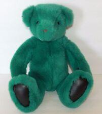 Vintage Gund Bear Plush Stuffed Victoria's Secret Green Dark Teal