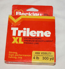 Berkley Reel Filler Trilene XL Extra Strong Premium Monofilament 4lb Fish Line