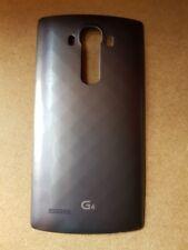 Original Genuine LG G4 Grey Metallic Back Battery Door Cover with NFC