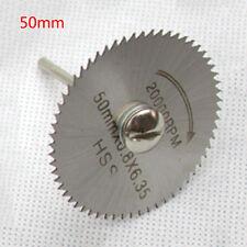 50mm HSS Saw Blade Rotary Tool set Circular for Metal Rotary Cutter Power Tool