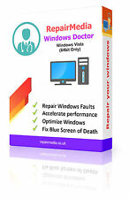 Windows Vista Doctor Data Repair Recovery ReInstallation DVD Software PC (64bit)