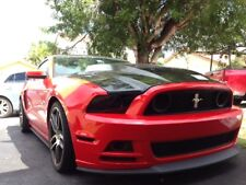 Mustang 13-14 HEADLIGHT vinyl Front kit smoked tinted 6 piece  $5 refund avail