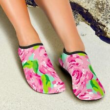 First Impression Lilly Pulitzer Pattern Women Aqua Barefoot Shoes