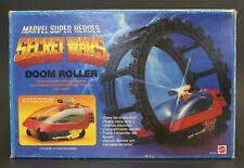 1984 Mattel / Congost MARVEL SECRET WARS DOOM ROLLER w/ Spanish vintage box NEW