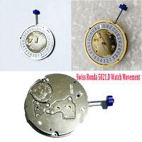 Swiss Ronda 5021.D Watch Bewegung Quartz 5 Pin Date at 6'Reparatur Zubehör Kit
