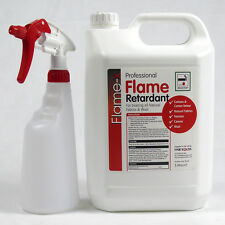 Fire Retardant Spray 5 Litres - Flame Retardant Spray with Trigger Spray Bottle