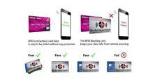 Anti-Theft Debit & Credit Card blocking cards