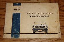 Original 1971 Volvo 142 144 Owners Operators Manual Instruction Book 71