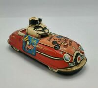 Vintage Marx Tin Mickey Mouse Wind Up Car
