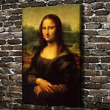 CHPT24 Modern Abstract HD Print Oil Painting home Decor Canvas,Mona Lisa smile