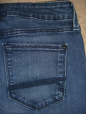 Not Your Daughter's Jeans NYDJ Slim Straight Med Blue Stretch Denim Size 6 x 29