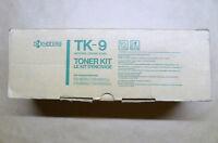 Original Kyocera Toner TK-9 schwarz black FS-1500 FS-1500A FS-3500 FS-3500A OVP