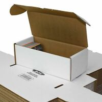 (3x) BCW 500 CT COUNT Corrugated Cardboard Storage Box-Sport Trading Card Boxes