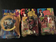 Austin Powers Action Figures, Set of 3, Nib!