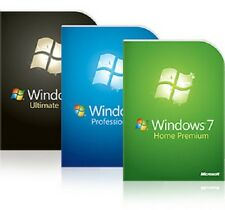 Windows 7 réinstallation Disc Installation Complète - 32 64 Home Professional Ultimate