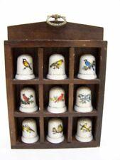 Porzellan-Fingerhüte mit Vögel Fingerhut