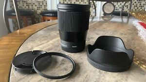 Sigma F1.4 DC DN 16mm Contemporary Lens for Sony E Mount Camera