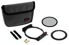 CPL Set w 82mm Adapter & Holder Haida 100 Series 100mm Insert Filter /Cokin Z 82