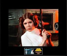 "Star Wars 8"" x 10"" Photo of Princess Leia on Tantive 4(Anh)-11""x14"" Black Matted"