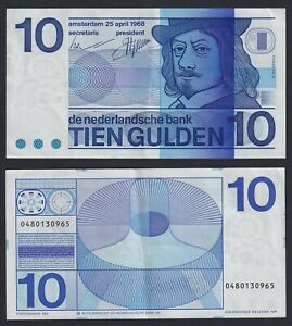 Olanda 10 gulden 1968 SPL+/XF+  B-09