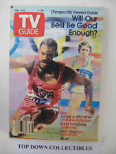 TV Guide  Sept. 17-23  1988  The Mind Games That make A Champion Marathoner