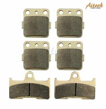 Front and Rear Brake Pads For Yamaha Grizzly 660 YFM660 2002-2008