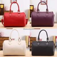 Womens Ladies Designer PU Leather Tote Satchel Shoulder Bag Handbag Purse C1MY