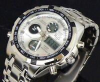 R&G Uhr Herrenuhr Multifunktion Wasserdicht Military Watch Alarm Chrono  ww#+