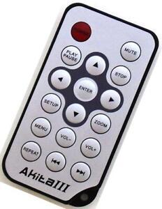 "Genuine Sumvision 7"" Digital Photo Frame Remote For Akita III"