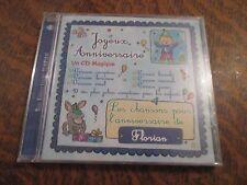 cd album bon anniversaire FLORIAN joyeux anniversaire