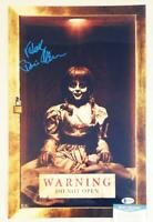 BONNIE AARONS SIGNED 11x17 METALLIC PHOTO ANNABELLE THE NUN BECKETT BAS COA 645