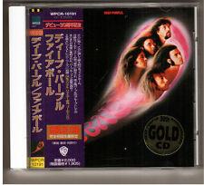 Rare Deep Purple Fireball 24Kt Gold orginal OBI Japan CD WPCR-10191 Warner Bro