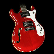 Danelectro '66 Electric Guitar Transparent Red