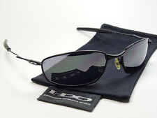 Oakley Whisker Black Sonnenbrille Inmate Plaintiff Taper Conductor Square Wire A