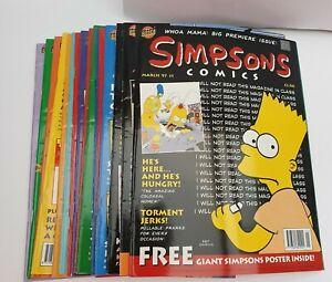 1990s Simpsons Comics - Issues # 1 to 16 - Bongo Comics