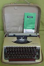 Schreibmaschine - Reiseschreibm. Olympia SF - Olympia Werke AG Wilhelmshaven