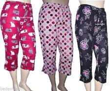 Flannel Multi-Coloured Machine Washable Sleepwear for Women