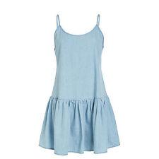 Women's 100% Cotton Knee-Length Summer/Beach Sundresses