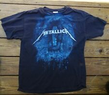 RARE 1990s METALLICA CONCERT ROCK AND ROLL T-SHIRT SIZE ADULT LARGE HANES HVYWT