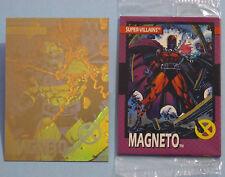 25722c66fef Complete Promo Set (6) 1992 X-Men Series I Sealed 5-Card