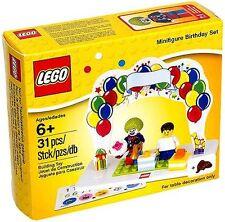 LEGO MINIFIGURE BIRTHDAY PARTY SET w/clown & boy/girl- Cake Topper/Present/Favor