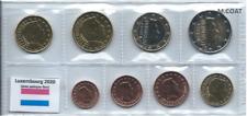 1x série UNC (8 pièces) 2€---1cent Luxembourg 2020 LION (neuves) sous pochette