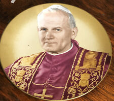More details for pope john paul ii commeration plate uk visit 1982 free uk postage