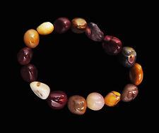 Mookaite Stone Stretch Bracelet