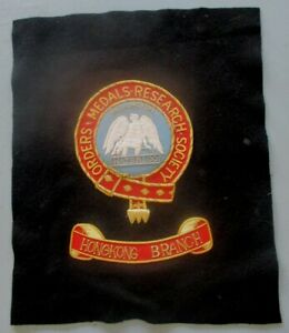 Orders and Medals Research Society Hong Kong Branch embroidery