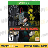 MY HERO ONES JUSTICE (XBOX ONE 1)🍯Series X (ACTION - VIDEO GAME) [BRAND NEW]